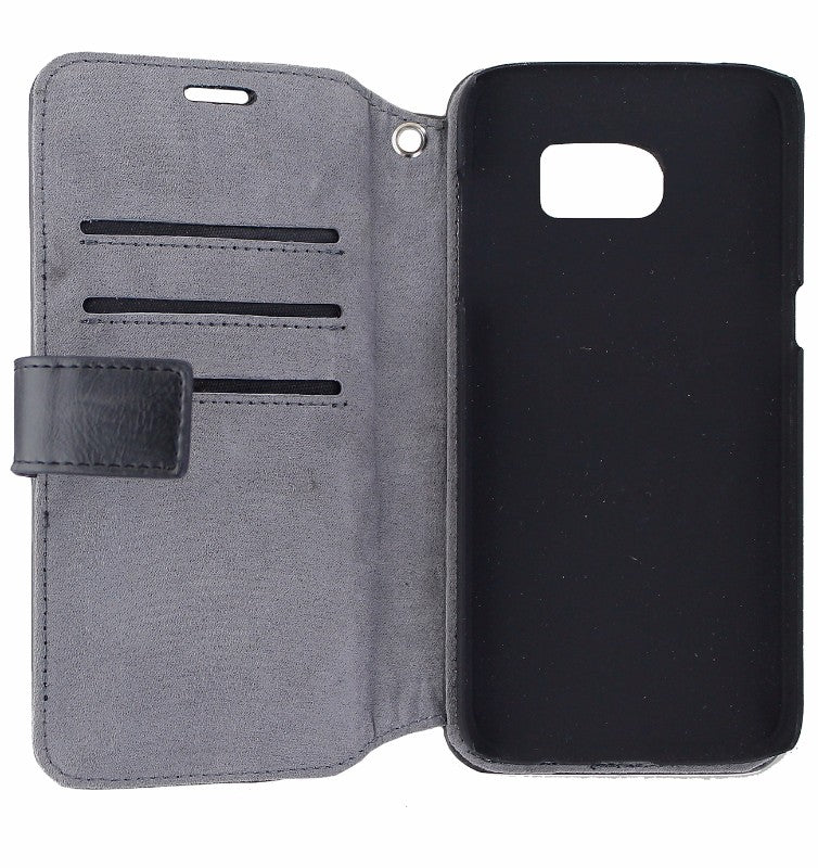 iDeal of Sweden Wallet Case with Detachable Shell for Galaxy S7 Edge - Black