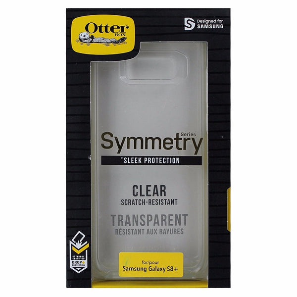 OtterBox Symmetry Case Cover For Samsung Galaxy S8+ (Plus) Smartphone - Clear