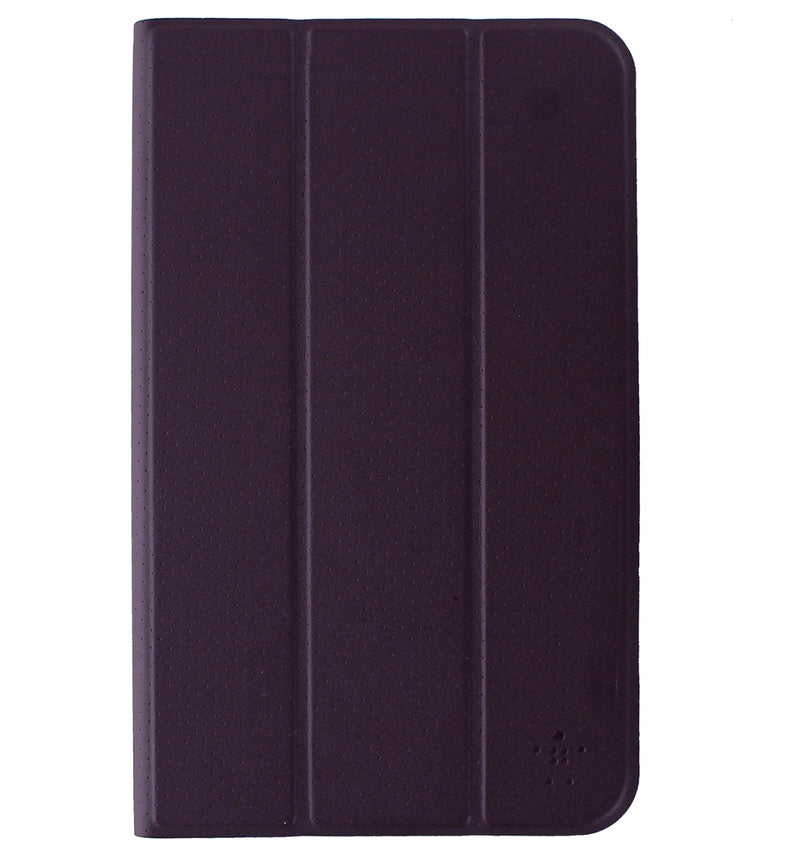 Belkin Tri-Fold Folio Case for Samsung Galaxy Tab E 8.0 - Purple / Gray