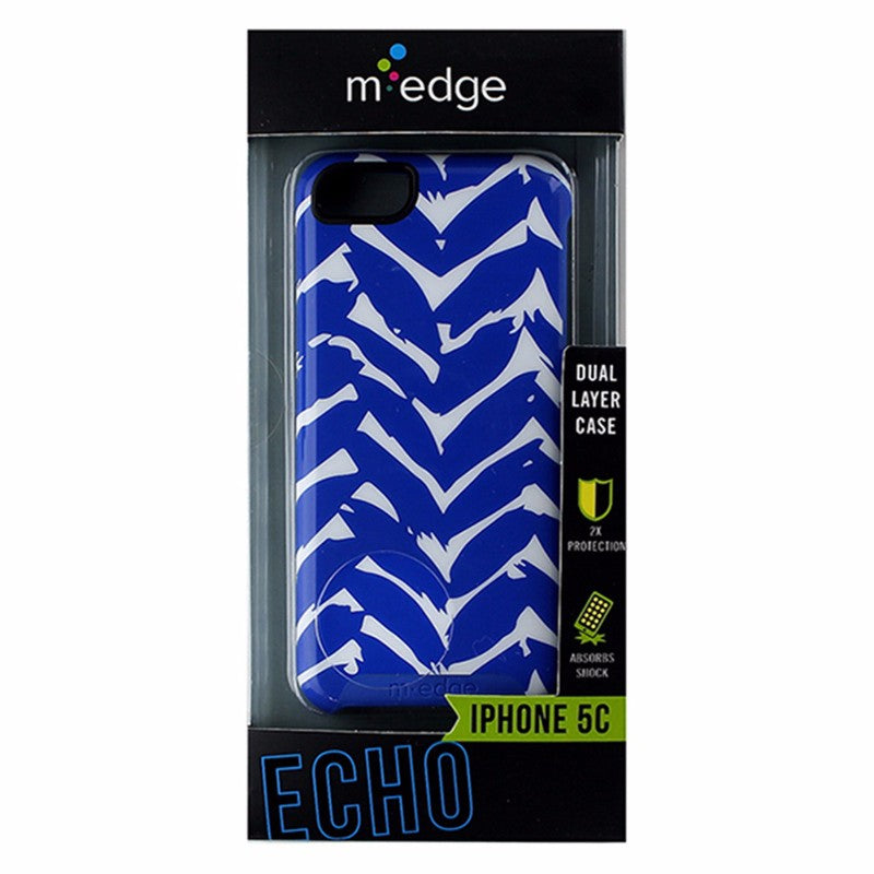 M-Edge Echo Series Hybrid Case for Apple iPhone 5C - Blue / White