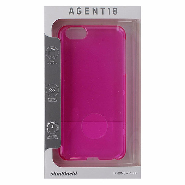Agent 18 SlimShield Hardshell Case for iPhone 6 Plus / 6s Plus -Translucent Pink