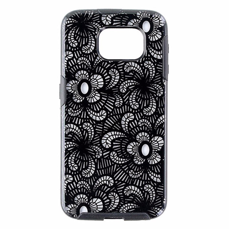 M Edge Glimpse Series Hybrid Case for Samsung Galaxy S6 - Black Lace