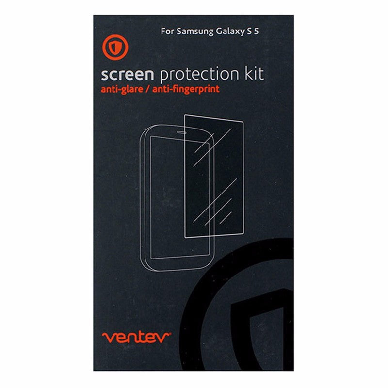Ventev Screen Protector for Samsung Galaxy S5 - Retail Packaging - Clear