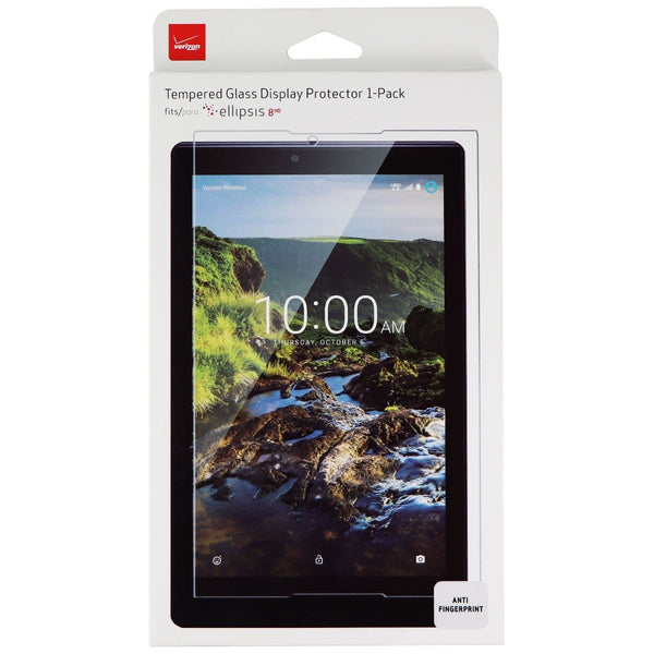 Verizon Tempered Glass Display Screen Protector 1-Pack for Ellipsis 8HD