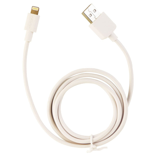 Ventev Essentials Series 3FT Cable with Lightning Connector - White