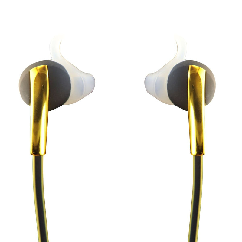 Simle Wireless Bluetooth In Ear Sport Earbuds - Black / Gold