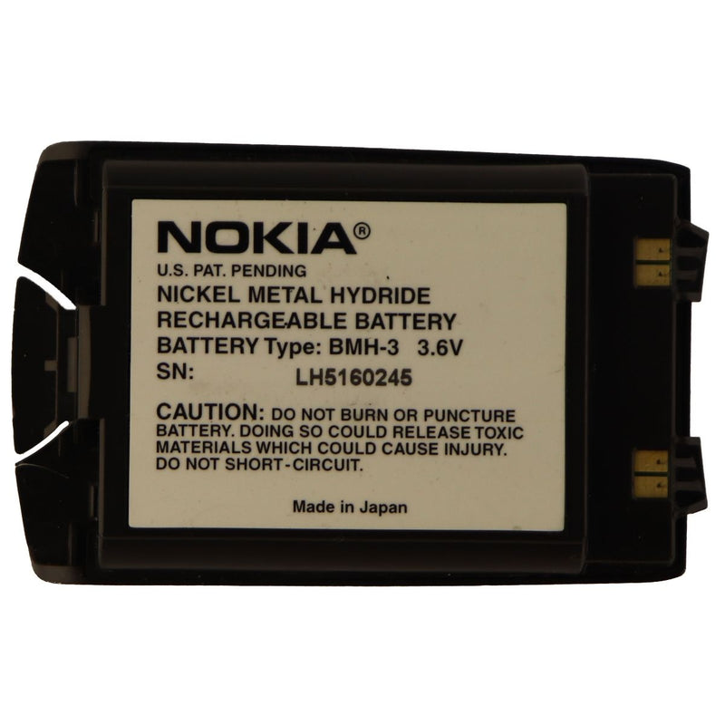 Nokia BMH-3 3.6v Nickel Metal Hydride Battery for Nokia Devices - Black
