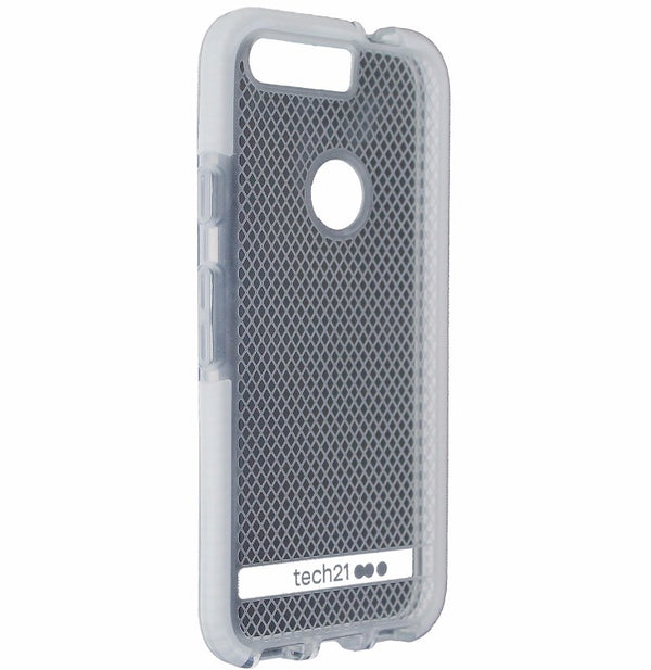 Tech 21 Evo Check Lightweight Protective Case Cover Google Pixel - Clear / White