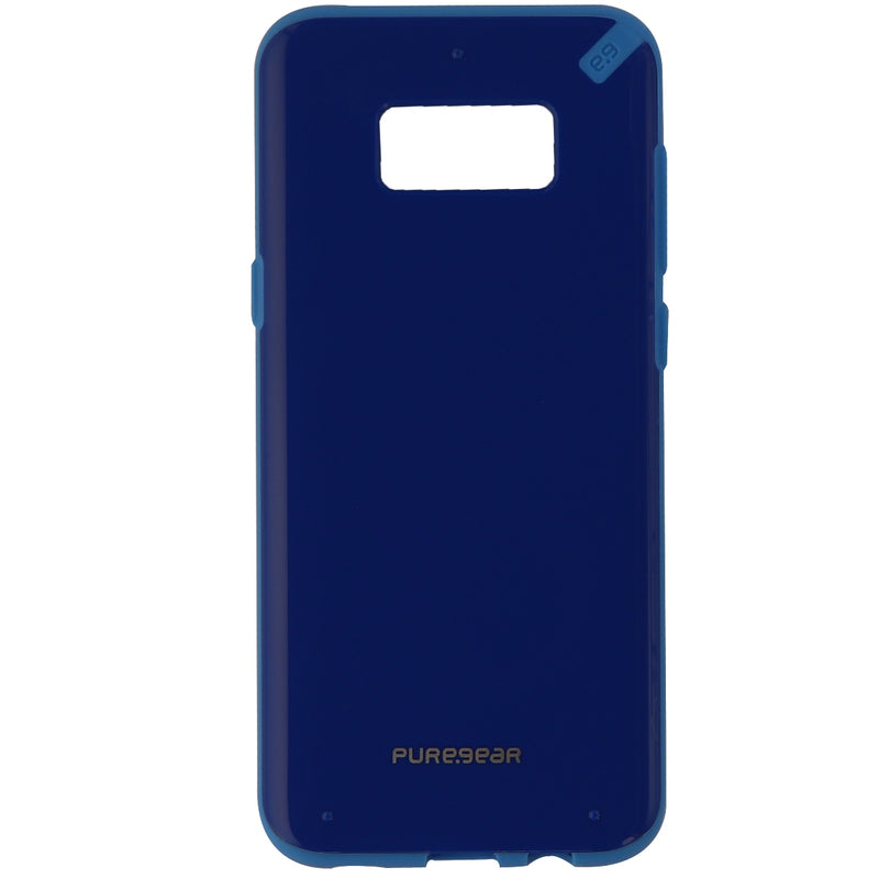 PureGear Slim Shell Series Protective Case Cover for Samsung Galaxy S8 + - Blue