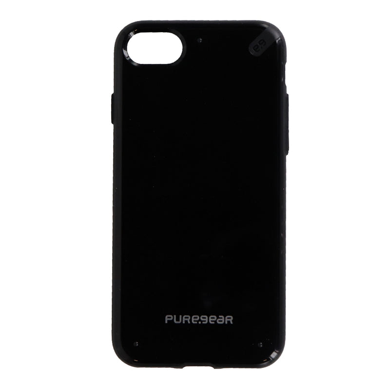 PureGear Slim Shell Series Protective Case Cover for iPhone 8 7 - Black