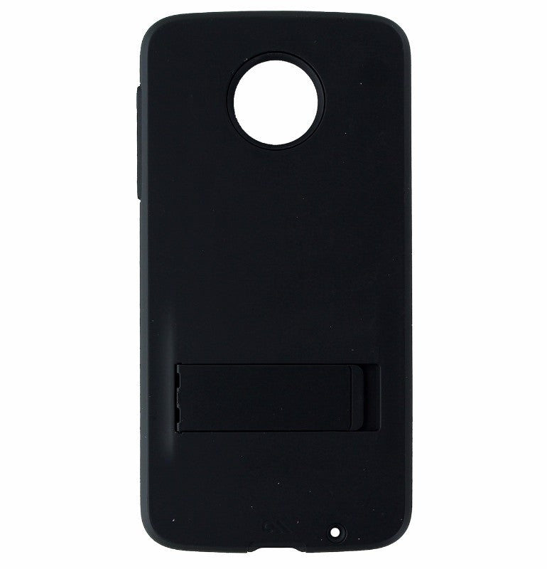 Case-Mate Tough Stand Case Cover and Kickstand for Motorola Moto Z Droid - Black