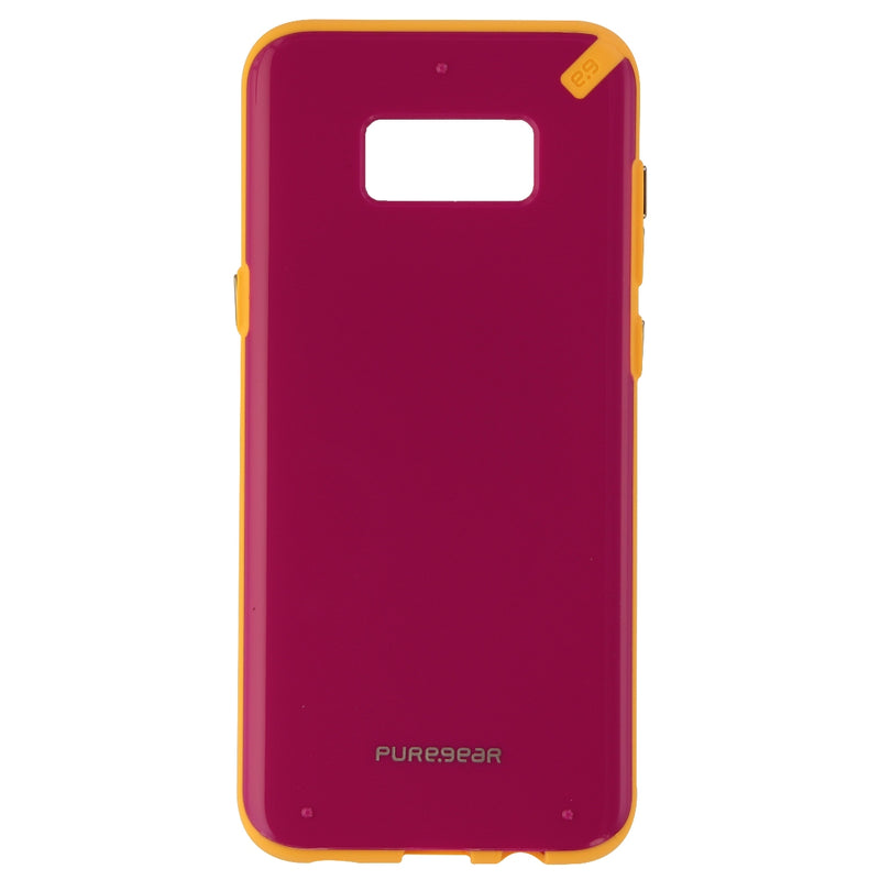 PureGear Slim Shell Series Hybrid Case for Samsung Galaxy S8+ (Plus) Pink/Orange