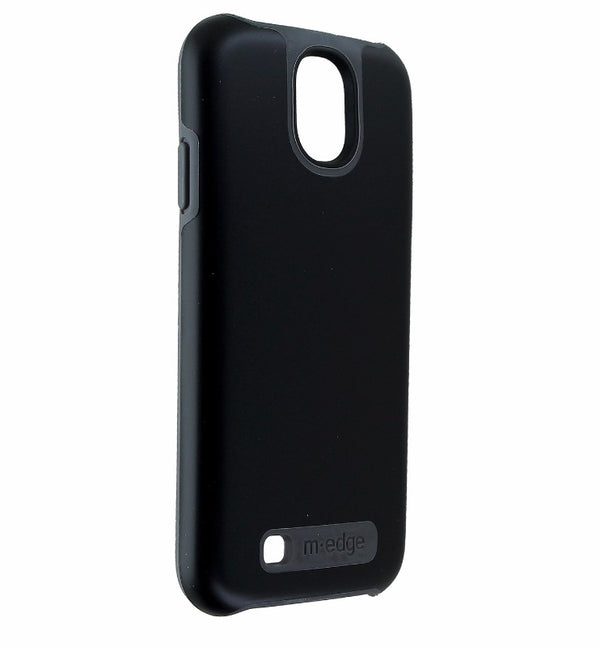 M-Edge Echo Series Dual Layer Hybrid Hard Case Cover for Galaxy S4 - Black/Gray