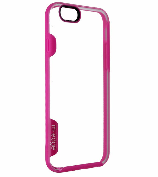 M-Edge Clear Series Protective Case Cover for iPhone 6s 6 - Clear / Pink