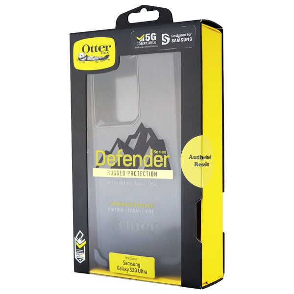 OtterBox Defender Series Case and Holster for Samsung Galaxy S20 Ultra - Black