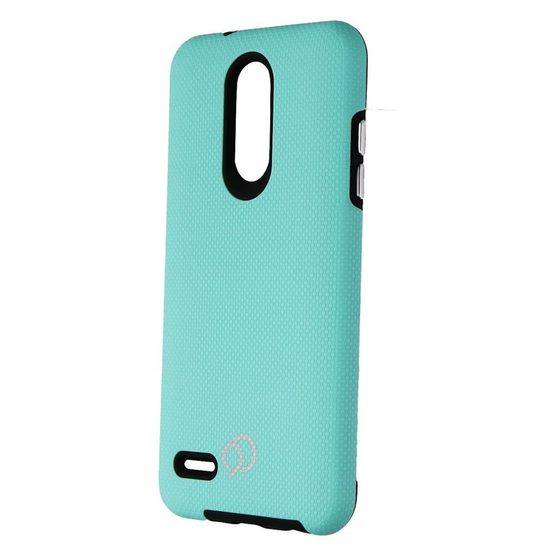 Nimbus9 Latitude Dual-Layer Leatherette Case for LG Aristo/Tribute/K8s - Teal