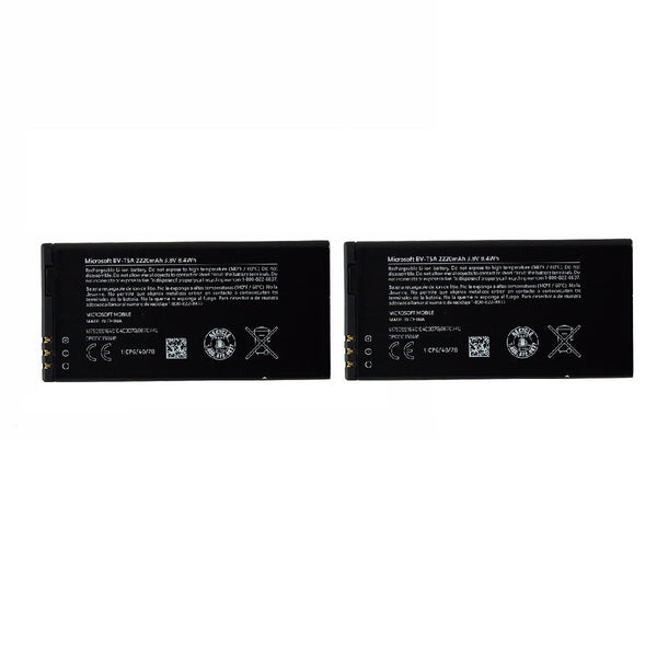 KIT 2x Microsoft Lumia 730 735 RM-1040 2220 mAh (BV-T5A) Battery for Lumia730