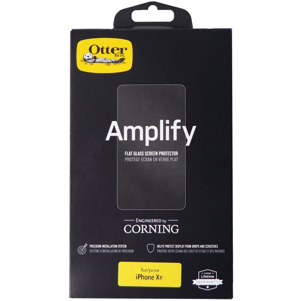 OtterBox Amplify Flat Glass Screen Protector for Apple iPhone XR Smartphone
