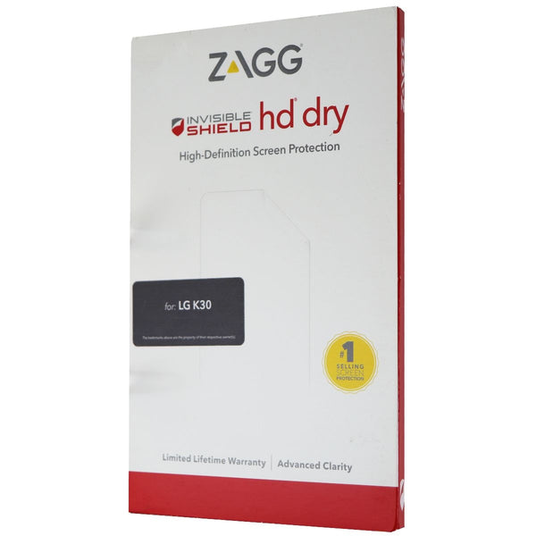 ZAGG HD Dry InvisibleShield High-Definition Screen Protector for LG K30 - Clear