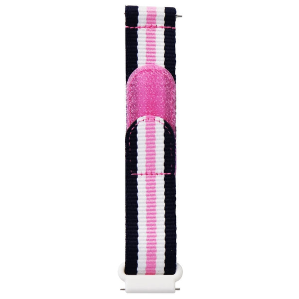 Gizmo Nylon Band for GizmoWatch - Kids Size - Pink/White/Navy Stripe (X53N3S)