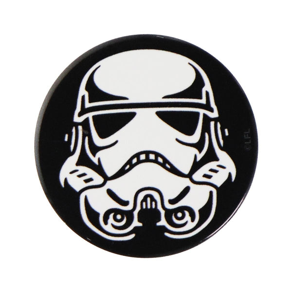 PopSockets PopGrip Collection Grip and Stand  - Storm Trooper -  Black/White