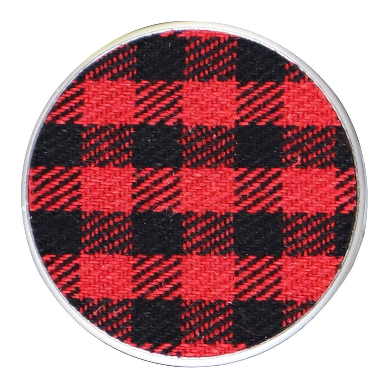 PopSockets: Collapsible Grip & Stand for Phones and Tablets - Classic Check Red