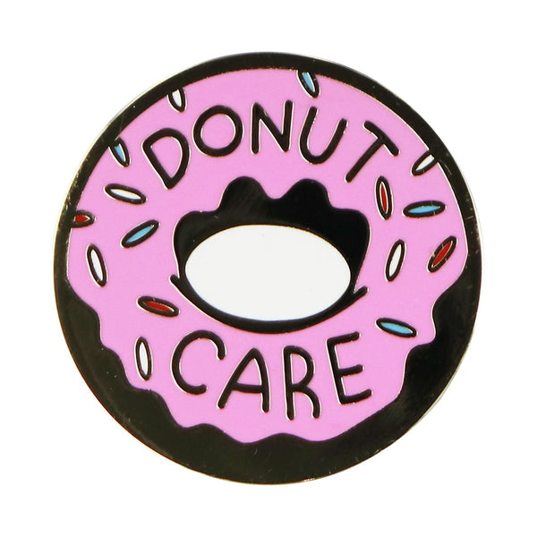 PopSocket PopGrip Collection Grip and Stand for Phone - Donut Care - Enamel/Pink