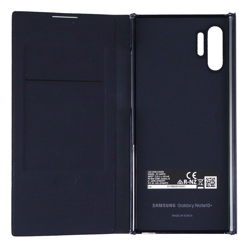 Samsung LED Folio Wallet Case for Samsung Galaxy (Note10+) - Black