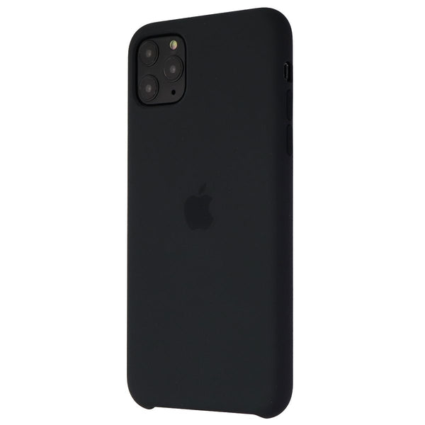Apple Silicone Case for iPhone 11 Pro Max - Black (MX002ZM/A)