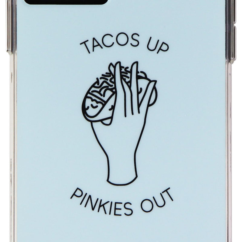 Carson & Quinn Case for iPhone 11 Pro Max/Xs Max - Tacos Up Pinkies Out/Blue