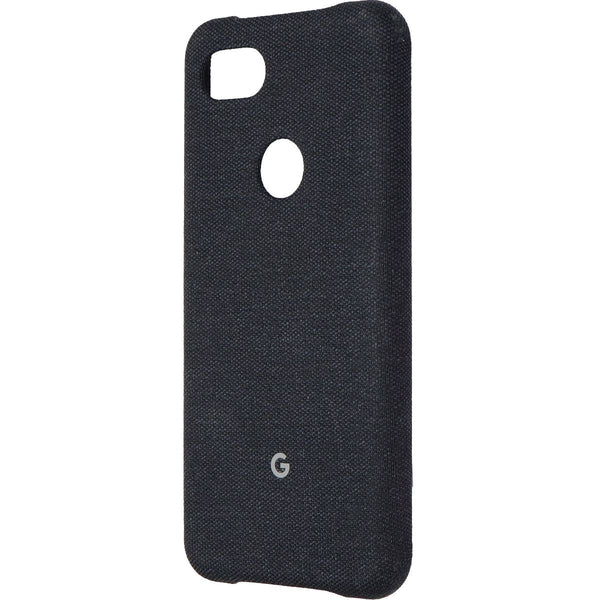 Google Slim Protective Case for Google Pixel 3a XL Smartphones - Carbon Black