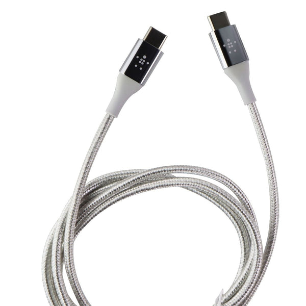 Belkin MIXIT DuraTek USB-C (4ft) Charge and Sync Cable - Silver