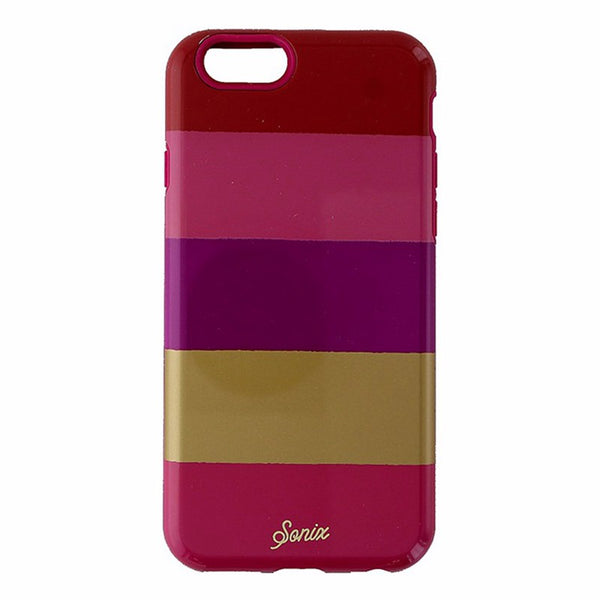 Sonix Inlay Series Case for Apple iPhone 6s and iPhone 6 - Fuchsia Stripe