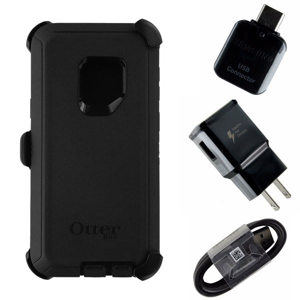 Accessory Kit for Samsung Galaxy S9 - Case/Cord/Plug/Adapter