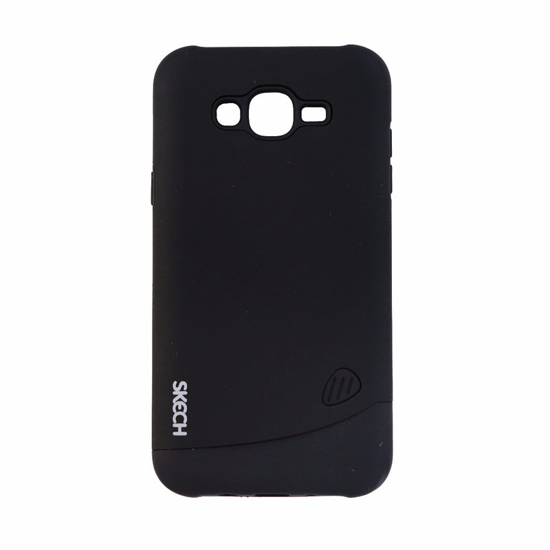Skech Bounce Series Dual Layer Case for Samsung Galaxy J7 - Matte Black