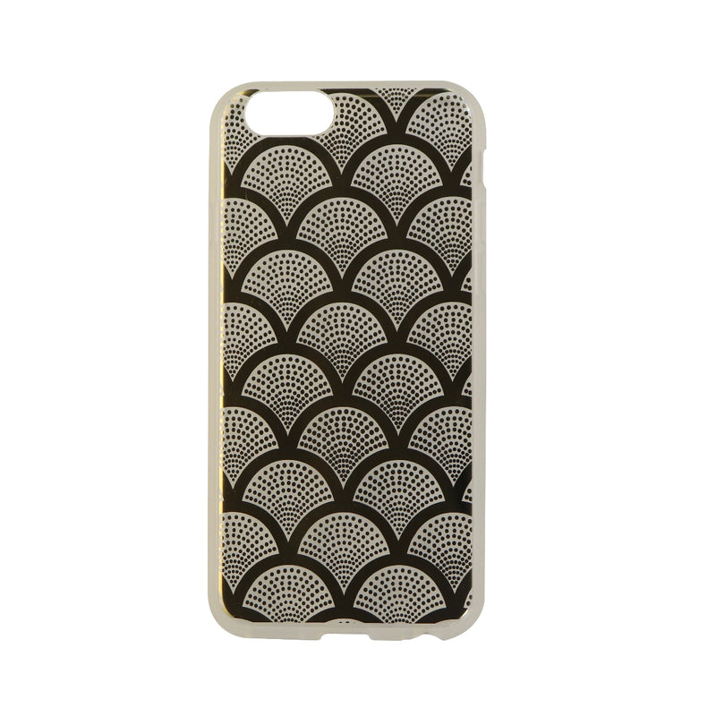 Sonix Clear Coat Series Hybrid Case for iPhone 6s and 6 - Clear/Gold Lace