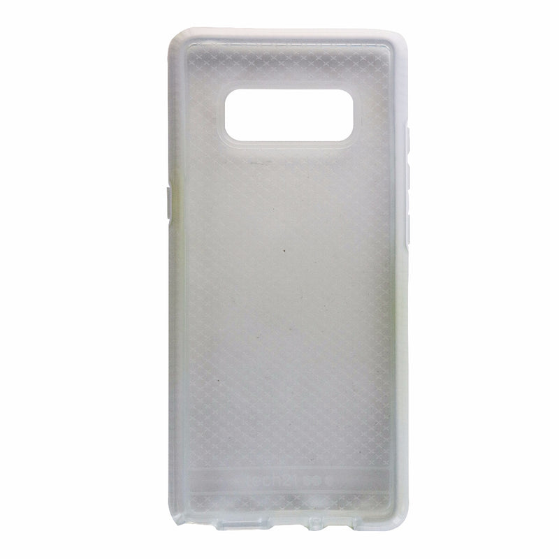 Tech21 Evo Check Series Flexible Gel Case Cover for Galaxy Note 8 - Clear/White