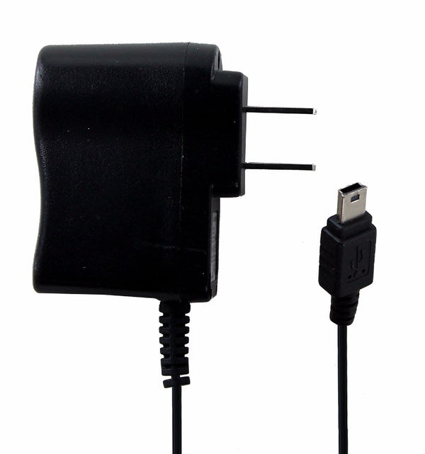 ZTE (IT15V050100X) 5V 1A  WallCharger for Mini USB Devices - Black