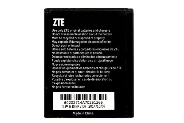 OEM ZTE Li3815T43P3h615142-I 1500 mAh Replacement Battery for ZTE Amazing A4C