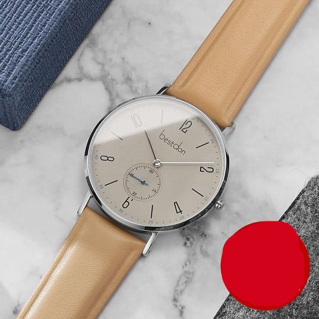 Men Minimalist Waterproof Watches