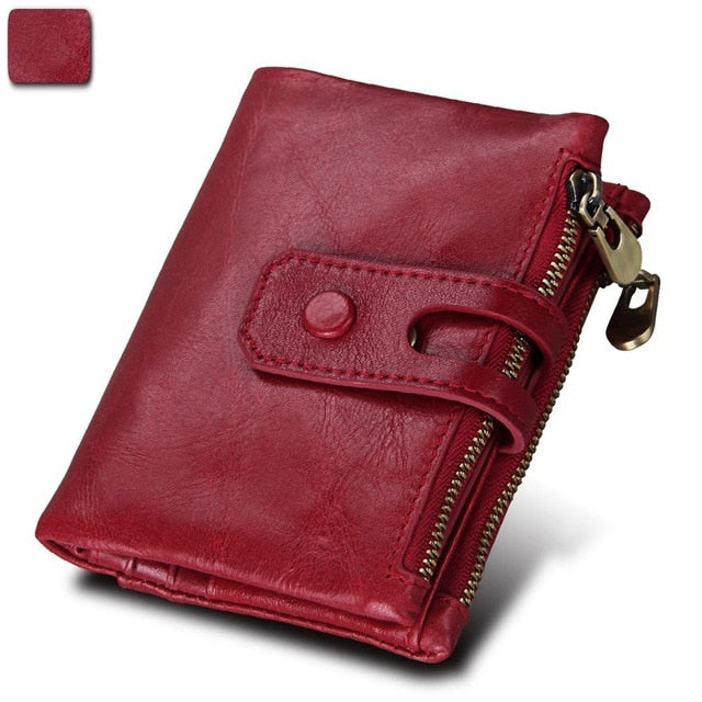 Crazy Horse Genuine Leather Wallets