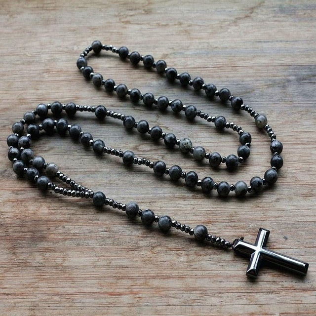 Catholic Christ  Cross Pendant Chain