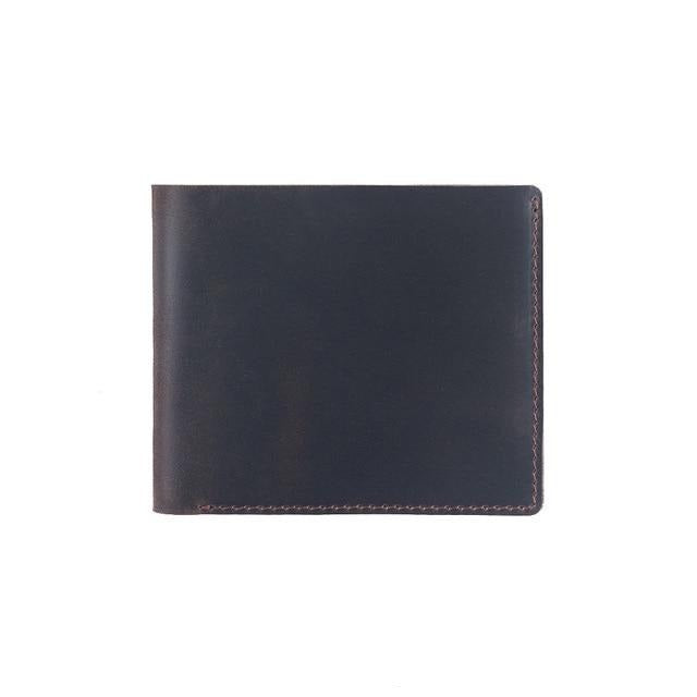 Crazy Horse Leather Clutch Wallets