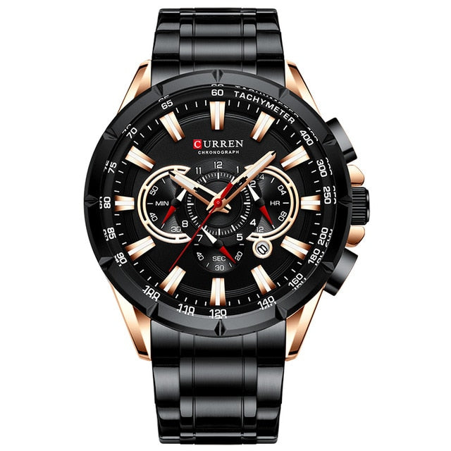Curren Quartz Sport Wristwatch