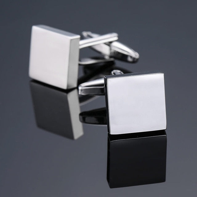 Novelty Stainless Steel Cuff Links
