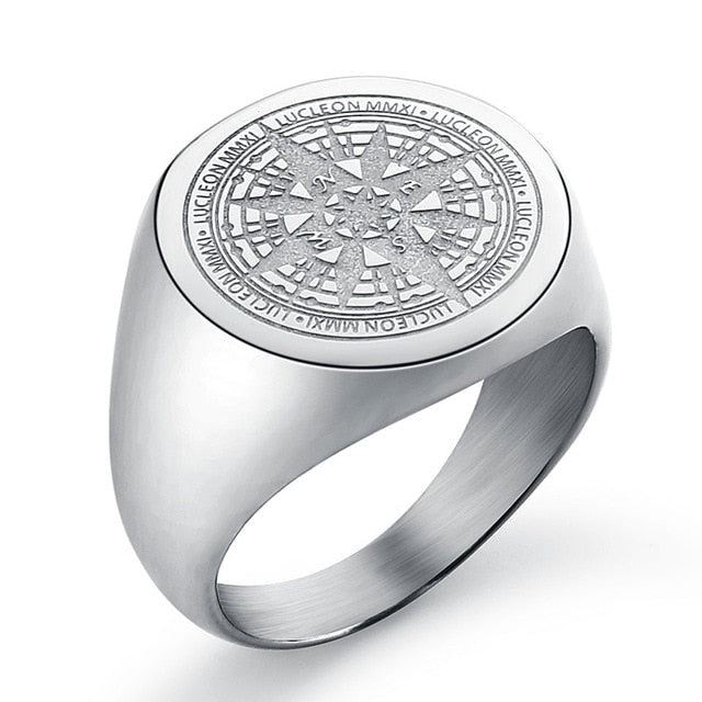 Luxury Design Compass Rings