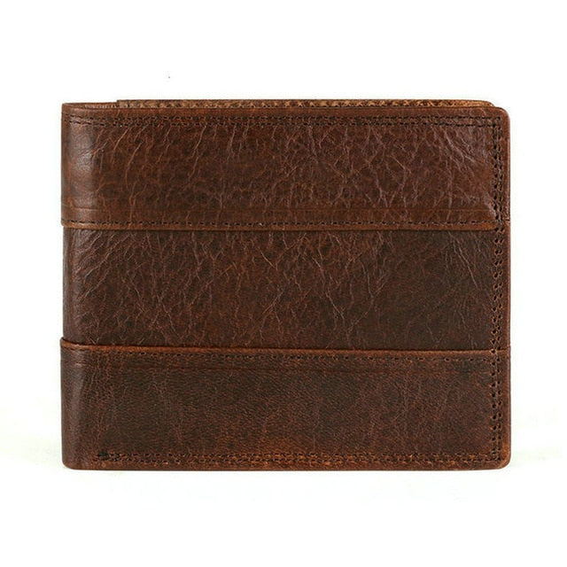 Cow Leather Vintage Wallet