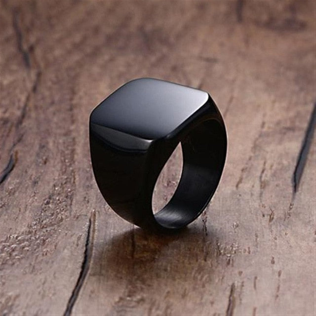 Fashion Square Classic Rings