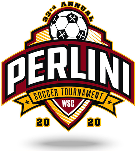 33rd Annual Perlini Soccer Tournament Logo