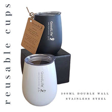 Load image into Gallery viewer, Stainless Steel 300ml Double Wall Cup